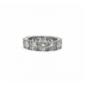 Four Prong Wedding Band