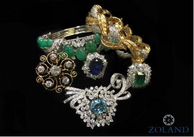 Estate Jewelry At Miami Beach Antique Show