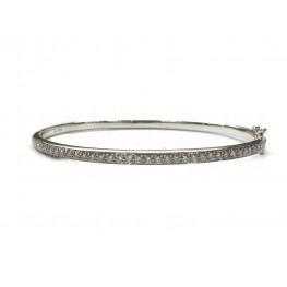 Sleek Diamond Bangle Bracelet