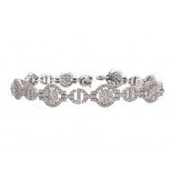 "Diamond ""S"" Bracelet"