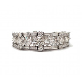Stunning Estate Diamond Bracelet