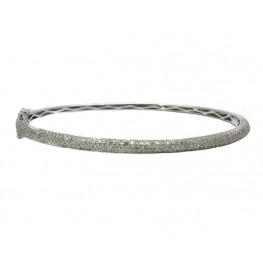 Pavé Diamond Bangle Bracelet