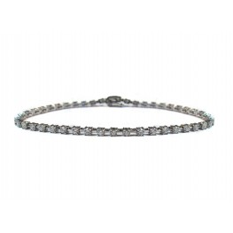 String of Diamonds Bracelet