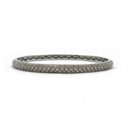 Pavé Bangle Bracelet