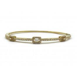 Baguette Diamond Bracelet