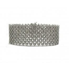 Wide Mesh Bracelet