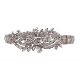 Estate Diamond Bracelet