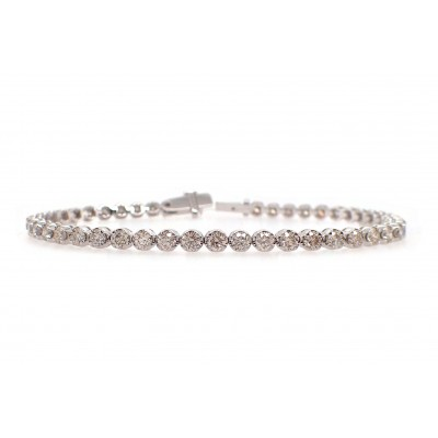 Miracle Set Diamond Tennis Bracelet