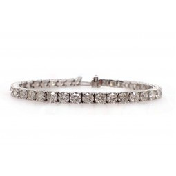 Classic Diamond Tennis Bracelet - 33pt Each