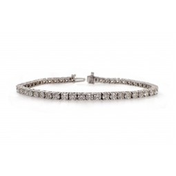 Classic Diamond Tennis Bracelet - 13pt Each