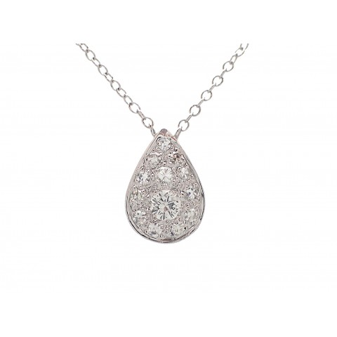 Diamond Cluster Tear Drop