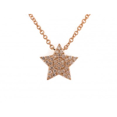 Yellow Gold Star Pendant