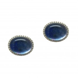 Lapis Cuff Links