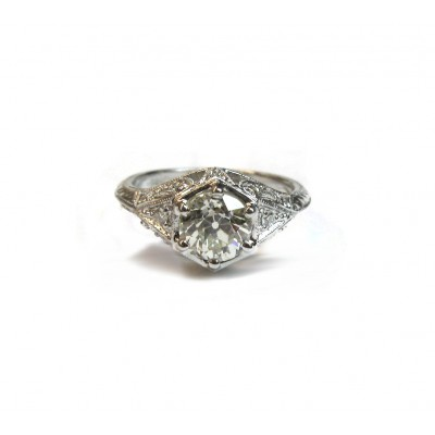 Custom Designed Antique Style Ring