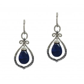 Chimes of Tanzanite Earrings