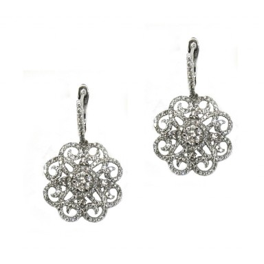 Radiant Floral Earrings