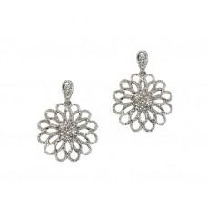 Blooming Diamond Earrings