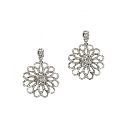 Blooming Diamond Earrings