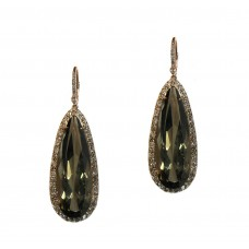 Smoky Quartz Hanging Earrings
