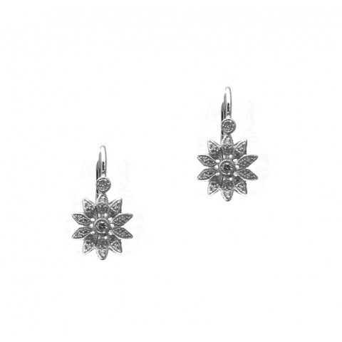 Diamond Petal earrings