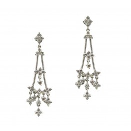Jose Hess Chandelier Earrings