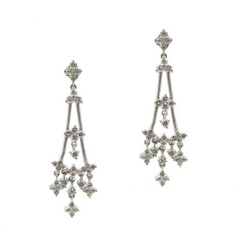 Jose Hess Chandelier Earrings
