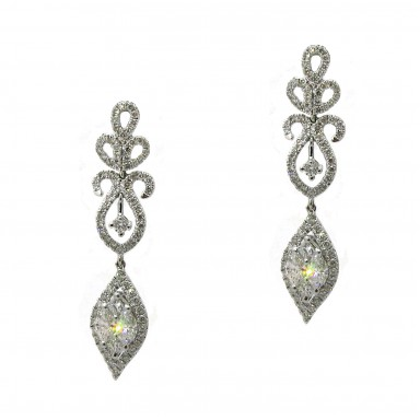 Ornate Hanging Earrings