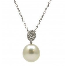 Simply Elegant Pearl Necklace