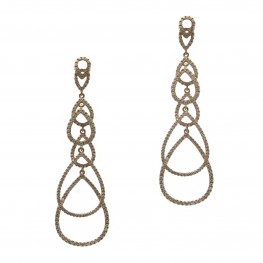 Golden Raindrop Earrings