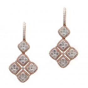 Rose Gold Diamond Drops