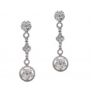 Circle of Life Dangle Earrings