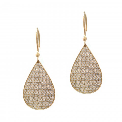 Gold Tear Drops