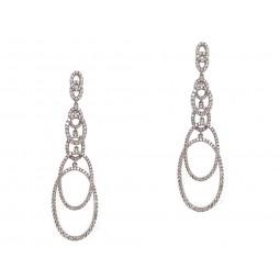 Interlocking Chandelier Earrings