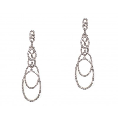 Interlocking Chandelier Earrings