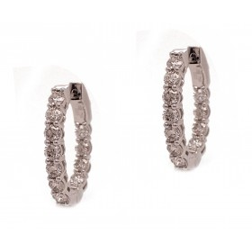 10pt Diamond Hoops (with Airline)
