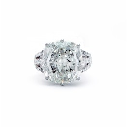 10.03ct Cushion Cut Stunner