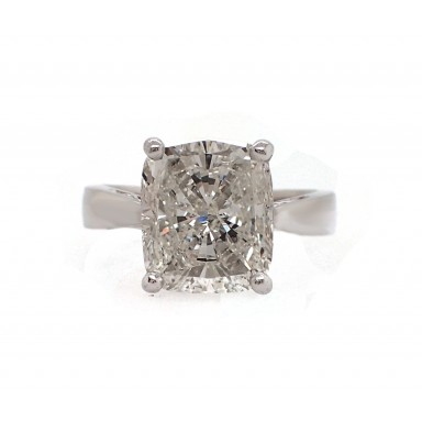 5ct Cushion Cut Engagement Ring