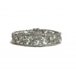 Elegant Estate Diamond Bracelet