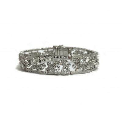 Elegant Estate Diamond Bracelet