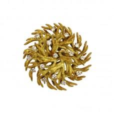 Estate Tiffany® Coral Pin