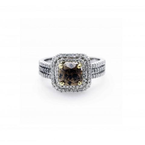 Fancy Chocolate Diamond Ring