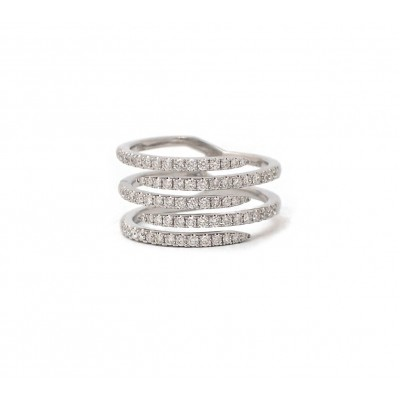 Multi-Row Diamond Band