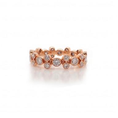 Bubble Diamond Ring