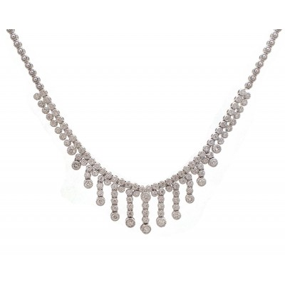 Diamond String Necklace