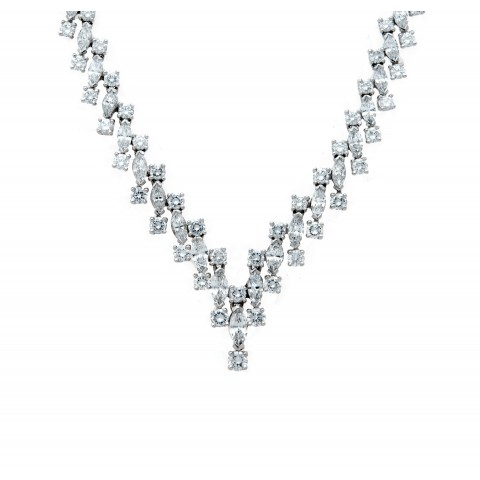 Spotlight Diamond Necklace
