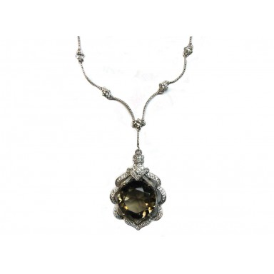 Smoky Topaz Necklace
