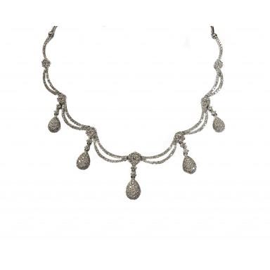 Ornate Diamond Necklace