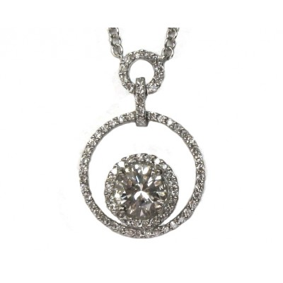 Contemporary Diamond Necklace