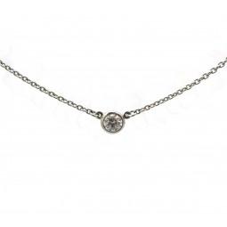 Tiffany® Single Diamond Pendant