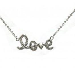 Diamond Love Pendant